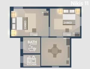 Nikis 11 Apartment, Apartmanok  Athén - big - 2
