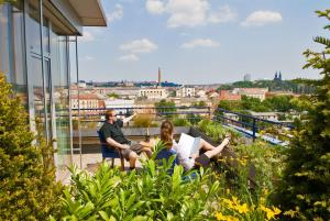 Akcent hotel, Hotels  Prag - big - 41
