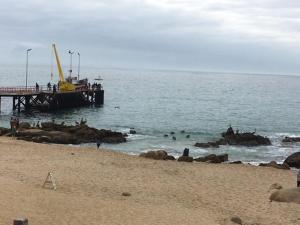 Cabañas La Posada Del Mar, Апарт-отели  El Quisco - big - 7