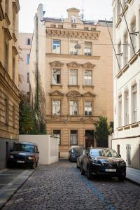 Hanan's Pštrossova, Apartmány  Praha - big - 23