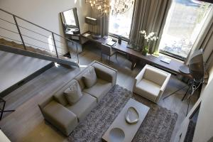 Luxe Suite met Uitzicht op de Gracht