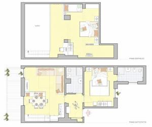 Appartamento Superior con 2 Camere da Letto e Vista Lago (7 Adulti)