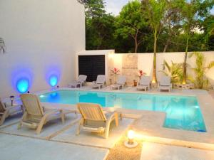 Paradise in Tulum - Villas la Veleta - V2, Case vacanze  Tulum - big - 60