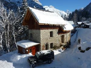 Bourg d'Oisans Studio, Alpesi faházak  Le Bourg-d'Oisans - big - 32