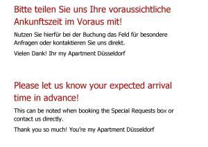 my Apartment Düsseldorf