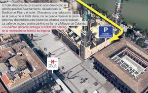 Hotel Pilar Plaza, Hotely  Zaragoza - big - 11