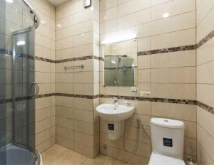 Brand New Apartment with Terrace, Apartments  Tbilisi City - big - 25