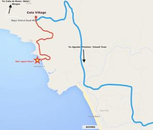 Blue Lagoon Resort Goa, Rezorty  Cola - big - 116