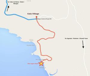 Blue Lagoon Resort Goa, Rezorty  Cola - big - 115