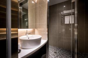Yi Su Hotel-Taipei Ningxia, Szállodák  Tajpej - big - 72