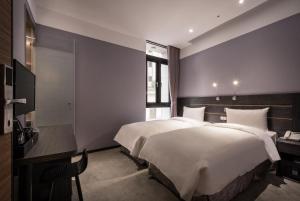 Yi Su Hotel-Taipei Ningxia, Szállodák  Tajpej - big - 70