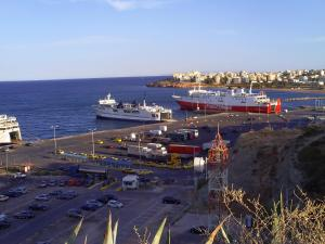 Rafina Port Paradise, Appartamenti  Rafina - big - 15