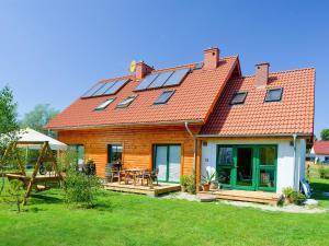 Ferienhaus mit Terrasse und Kamin - PL 034.004