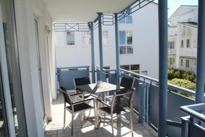 Villa Buskam - FeWo 26 mit Südbalkon