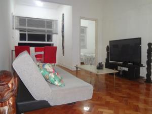 Ap 2 quartos Copacabana TV WIFI, Apartmány  Rio de Janeiro - big - 11