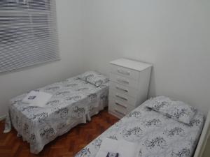 Ap 2 quartos Copacabana TV WIFI, Apartmány  Rio de Janeiro - big - 5