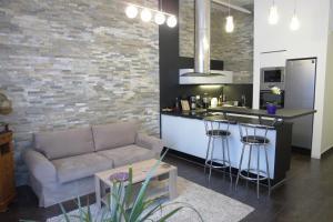 Modern-Trendy Apartment
