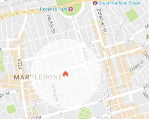 onefinestay - Marylebone private homes II, Апартаменты  Лондон - big - 26