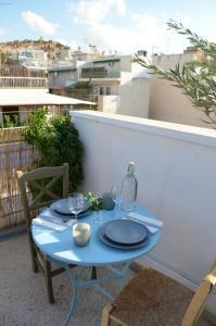 Matrozou Street Apartment with Spacious Terrace, Ferienwohnungen  Athen - big - 14
