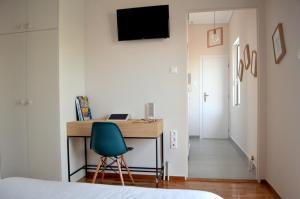 Matrozou Street Apartment with Spacious Terrace, Ferienwohnungen  Athen - big - 11