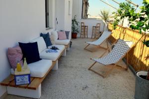 Matrozou Street Apartment with Spacious Terrace, Ferienwohnungen  Athen - big - 10
