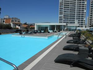 Departamento en Club Oceano Torre Mar, Apartments  Coquimbo - big - 9