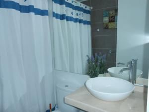 Departamento en Club Oceano Torre Mar, Apartments  Coquimbo - big - 7