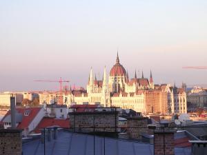 Panorama Danubius Apartment, Appartamenti  Budapest - big - 16