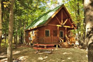 Tranquil Timbers Deluxe Cabin 5, Holiday parks  Sturgeon Bay - big - 7