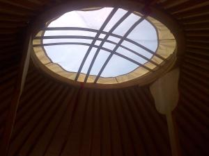 Almond Grove Yurt Hotel, Luxury tents  Ábrahámhegy - big - 10