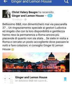 B&B Ginger&Lemon House
