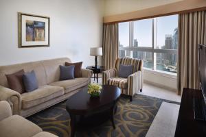 Suite med 3 soveværelser samt udsigt til hav og palmeø