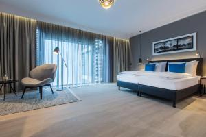 Radisson Blu Hotel, Mannheim, Отели  Мангейм - big - 21