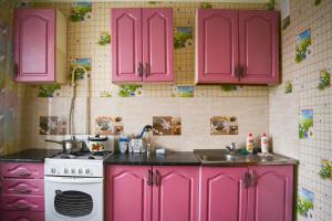 Apartment in 11 Microdistrict 92-15, Апартаменты  Актобе - big - 3