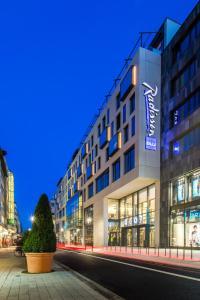 Radisson Blu Hotel, Mannheim, Отели  Мангейм - big - 1