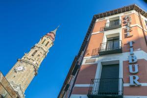 Hotel Tibur, Hotel  Saragozza - big - 53