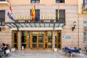 Hotel Tibur, Hotel  Saragozza - big - 43