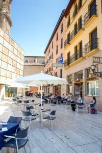 Hotel Tibur, Hotel  Saragozza - big - 11