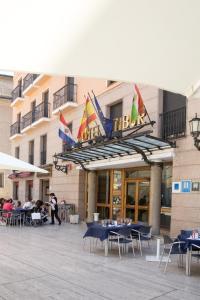 Hotel Tibur, Hotel  Saragozza - big - 51
