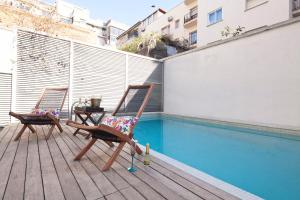 Apartment Barcelona Rentals - Private Pool and Garden