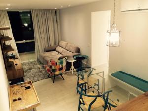 2 Quartos Gávea, Апартаменты  Рио-де-Жанейро - big - 16