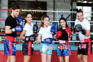 Sor Vorapin Muay Thai Home, Проживание в семье  Бангкок - big - 16