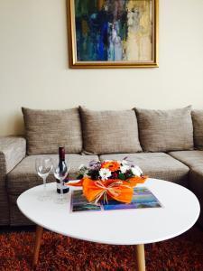 Orange Apartment in Royal City Complex
