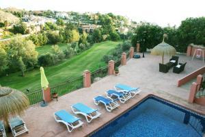 Luxurious holiday villa