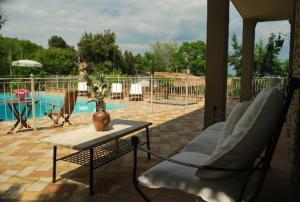 Villa Il Castagno, Hétvégi házak  Sassetta - big - 18