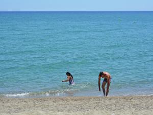 Au Golf Près De La Méditerranée, Ferienwohnungen  Saint-Cyprien - big - 18