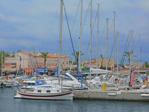 Au Golf Près De La Méditerranée, Ferienwohnungen  Saint-Cyprien - big - 14