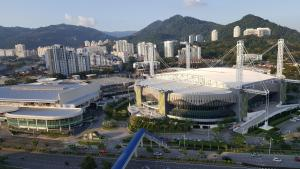 Arena Residence De SPICE, Апартаменты  Байан-Лепас - big - 17