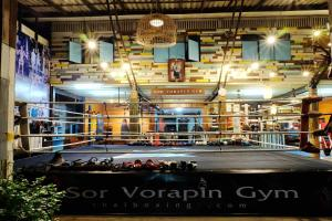 Sor Vorapin Muay Thai Home, Проживание в семье  Бангкок - big - 9