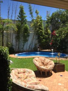 Maison Les beaux rivages, Vily  Dar Bouazza - big - 6